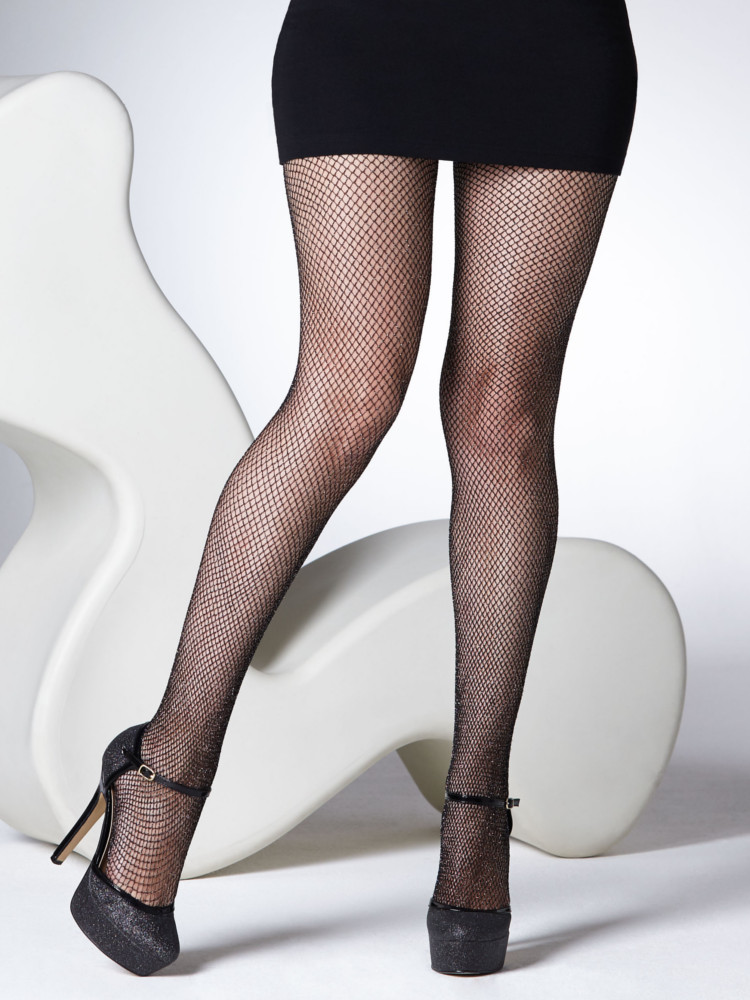 Gipsy Glitter Fishnet Tights