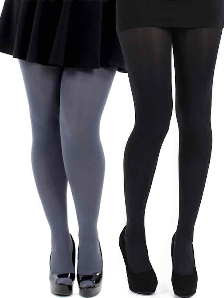 Pamela Mann 80 Denier Opaque Tights - Available M, XL, XXL & XXXL