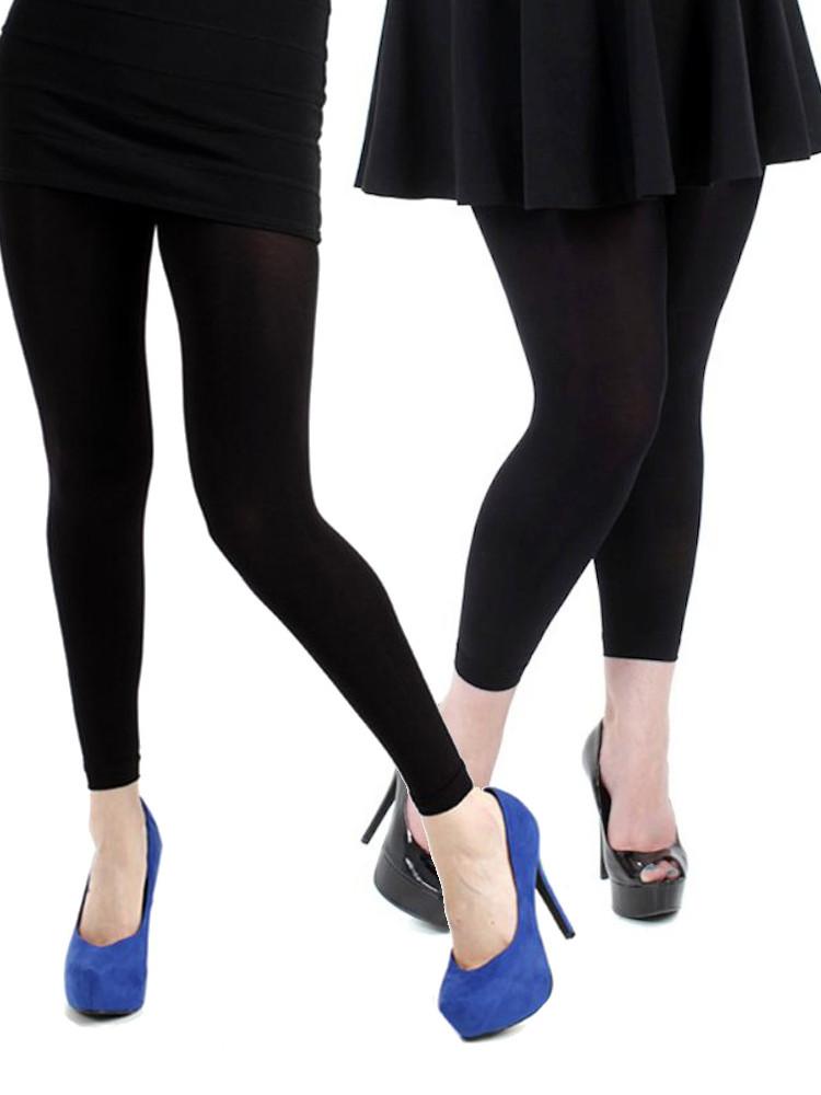 Pamela Mann 200 Denier Footless Tights - Available XL & XXL
