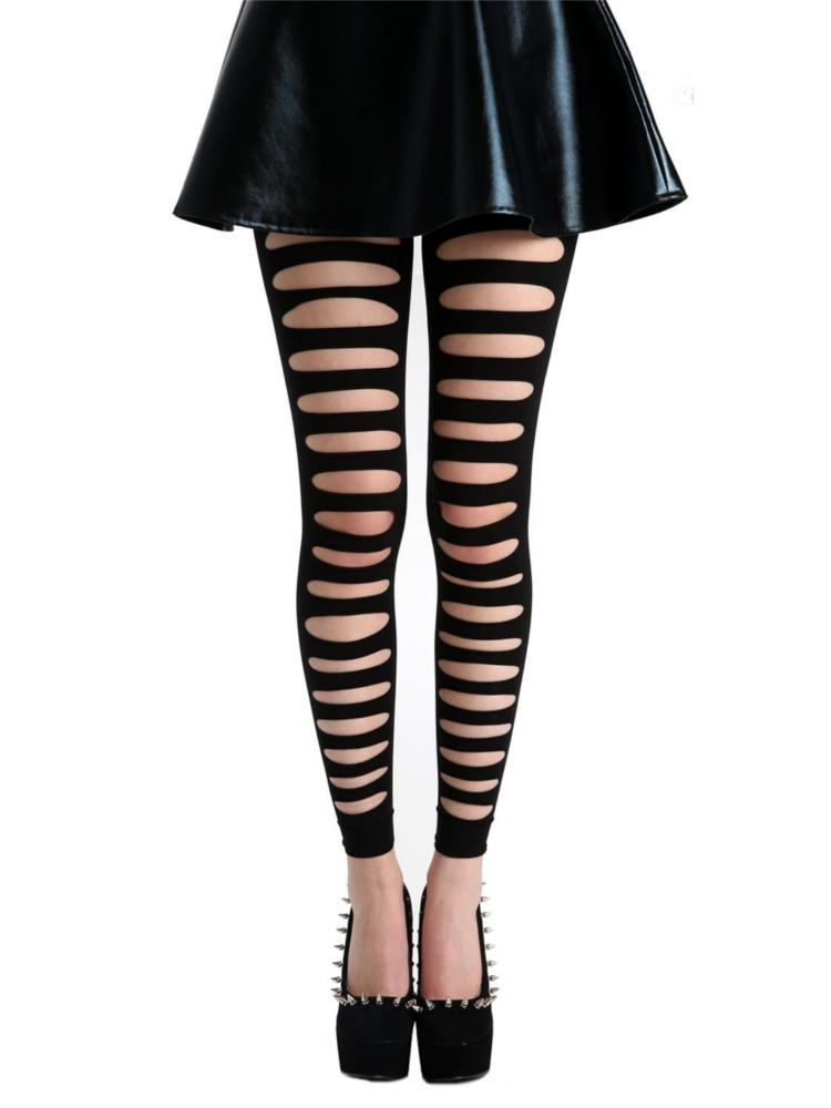 Pamela Mann Front Slash Leggings