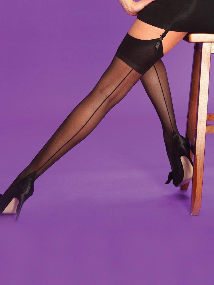 Scarlet Seamer Stockings