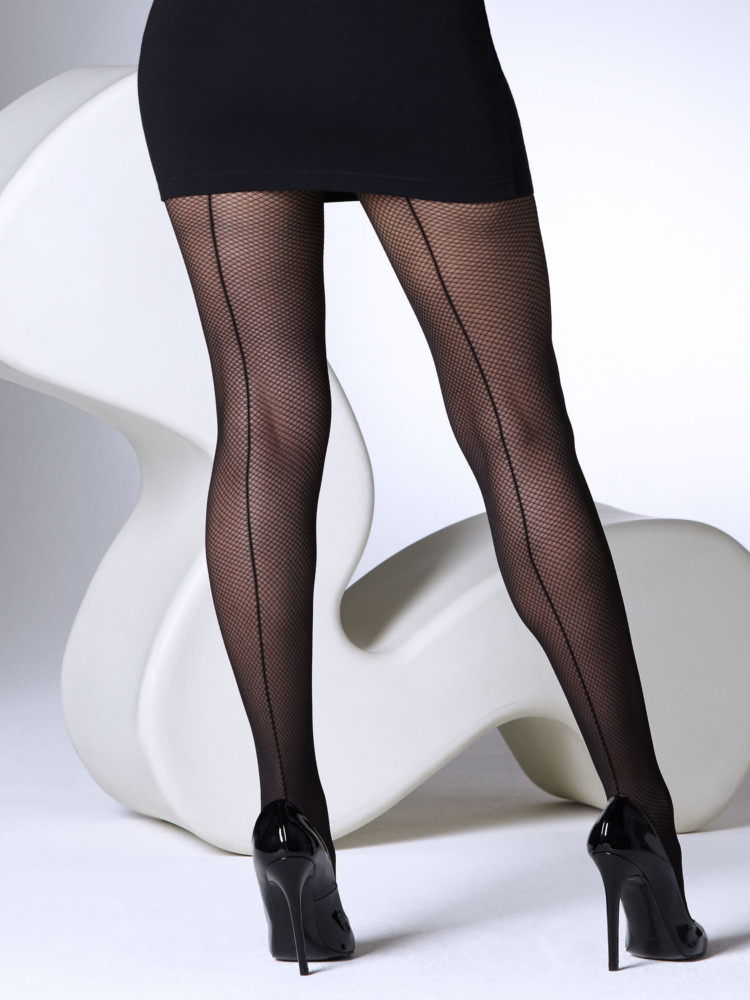 Gipsy Shadow Fishnet Seam Tights