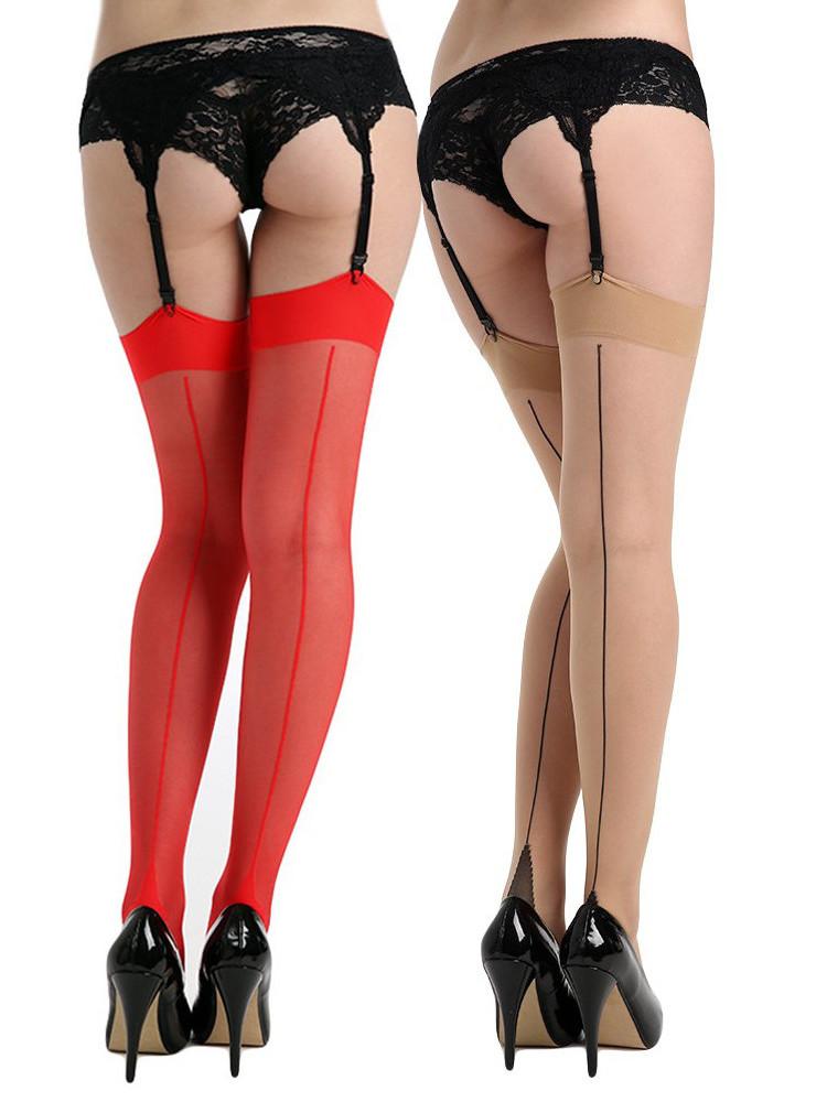 Pamela Mann Jive Seamed Stockings