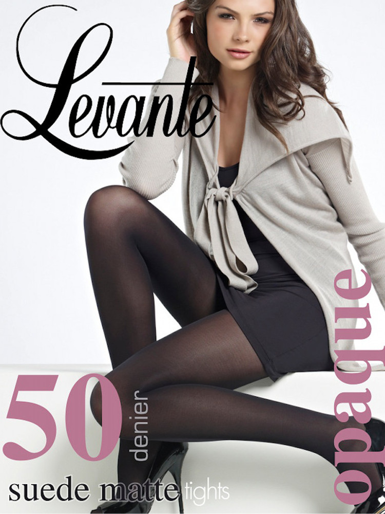 Levante Suede Matte Opaque Tights