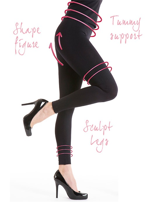 Silky Seamless Body Shaping Leggings