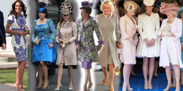 royals in sheer tights