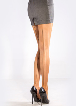 Cecilia De Rafael Chic Seamed Tights