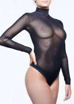 miss naughty sheer suit