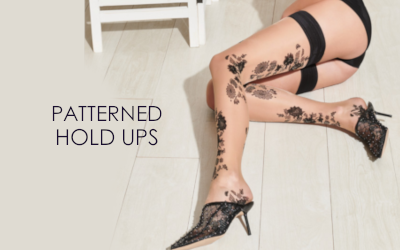 patterned hold ups
