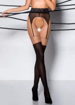 Passion Mock Suspender Tights