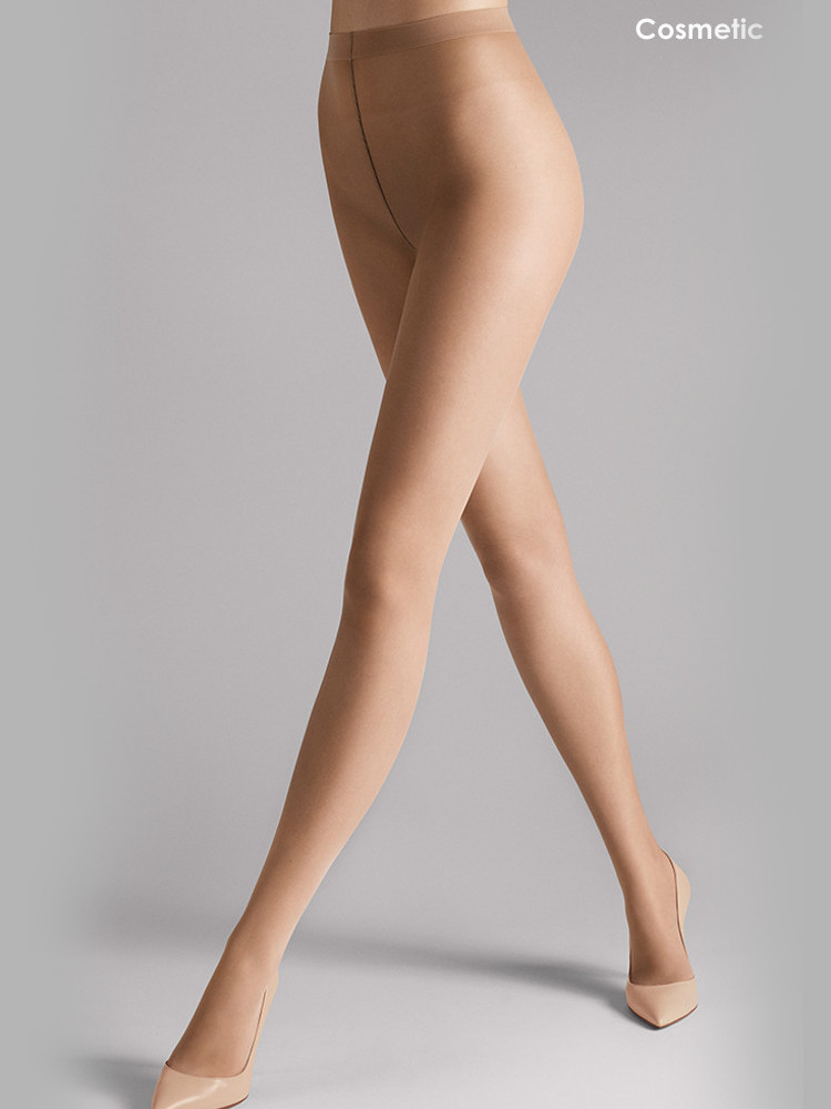 Image of Wolford Sheer 15 Tights-Large-Coca