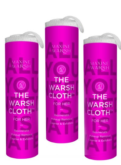 3 FOR 2 Magic Warsh Cloth: NEW Rejuvenate Cleansing Cloth For Her - Hosiery Outlet