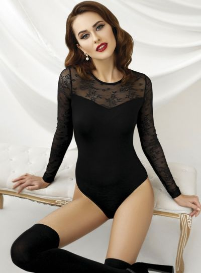 Anabel-Arto-Floral-Lace-Top-Body-Black