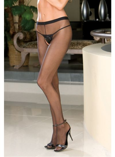 Dreamgirl-Sheer-To-Waist-Open-Crotch-Tights