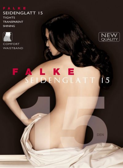 Falke NEW Seidenglatt 15 Denier Shiny Tights Pack Image