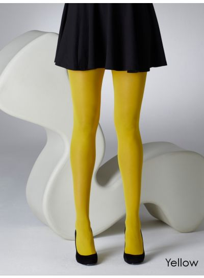 Gipsy-40-Denier-Opaque-Tights-Yellow