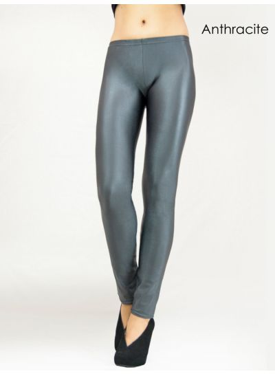Cecilia de Rafael Super High Shine Leggings - Hosiery Outlet