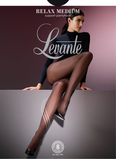 Levante Control Top and Medium Leg Support Tights