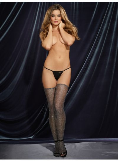 Dreamgirl-Fishnet-Metallic-Sparkle-Hold-Ups