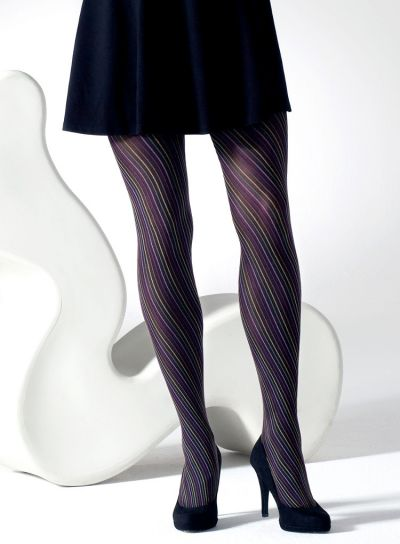Gipsy Multi-Coloured Spiral Tights