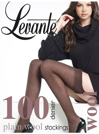 Levante 100 Denier Wool Stockings