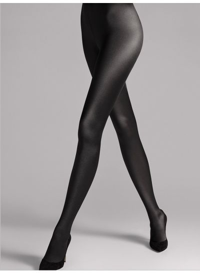 Wolford Satin De Luxe Shiny Tights made from Luxury Yarns in Opaque 100 Denier