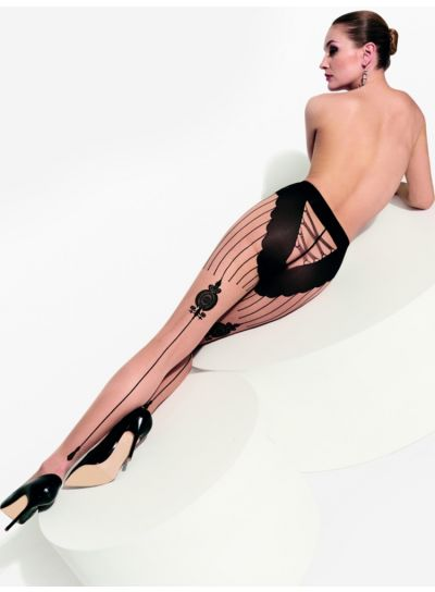 Trasparenze Griffith Seamed Tights