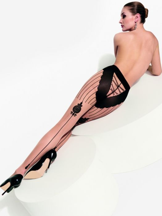 5289d83674c Trasparenze Griffith Seamed Tights - Hosiery Outlet