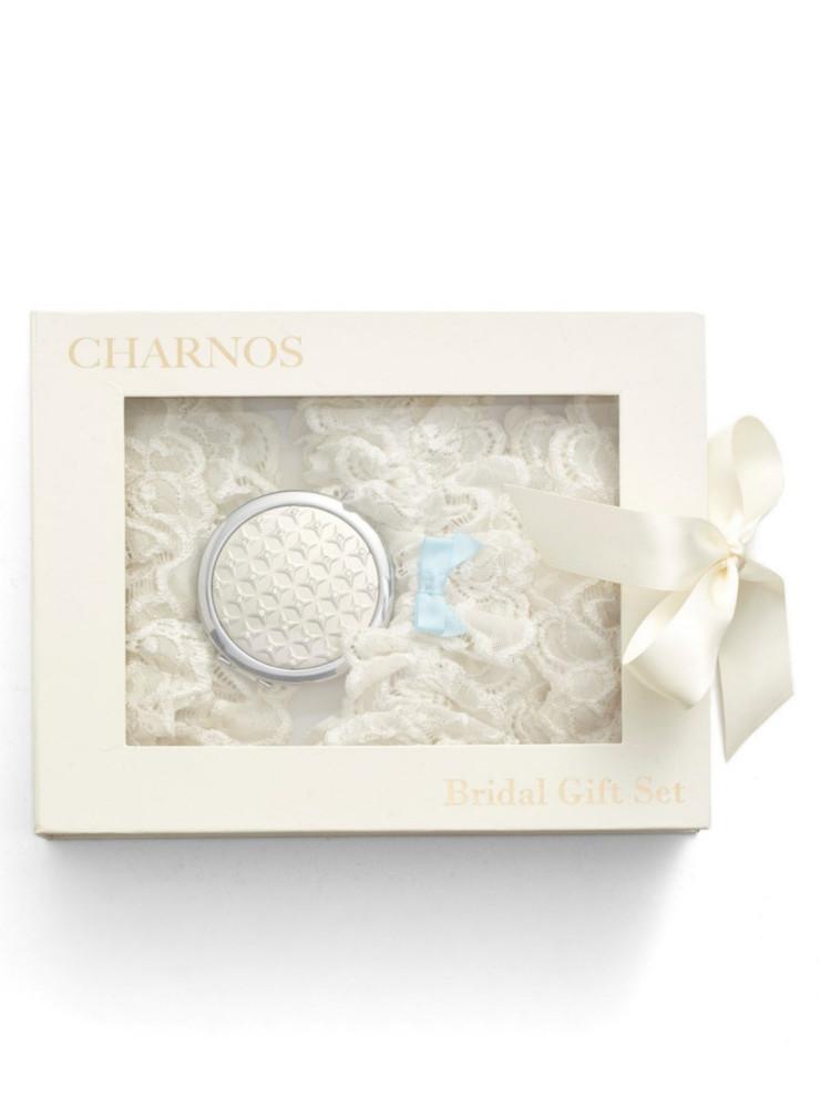 Image of Charnos Bridal Gift Set - Hosiery Outlet-Medium / Large-Ivory