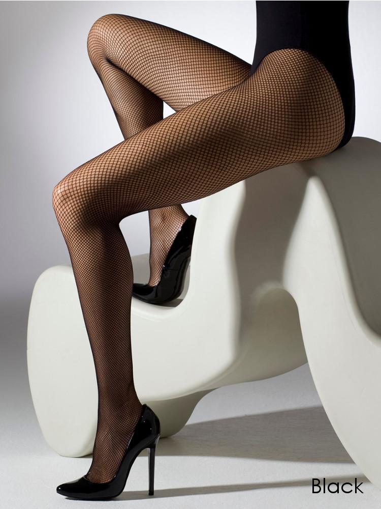 c0666c5275f6e Gipsy Fine Fishnet Tights, Classic Net Pantyhose Black or Natural | eBay
