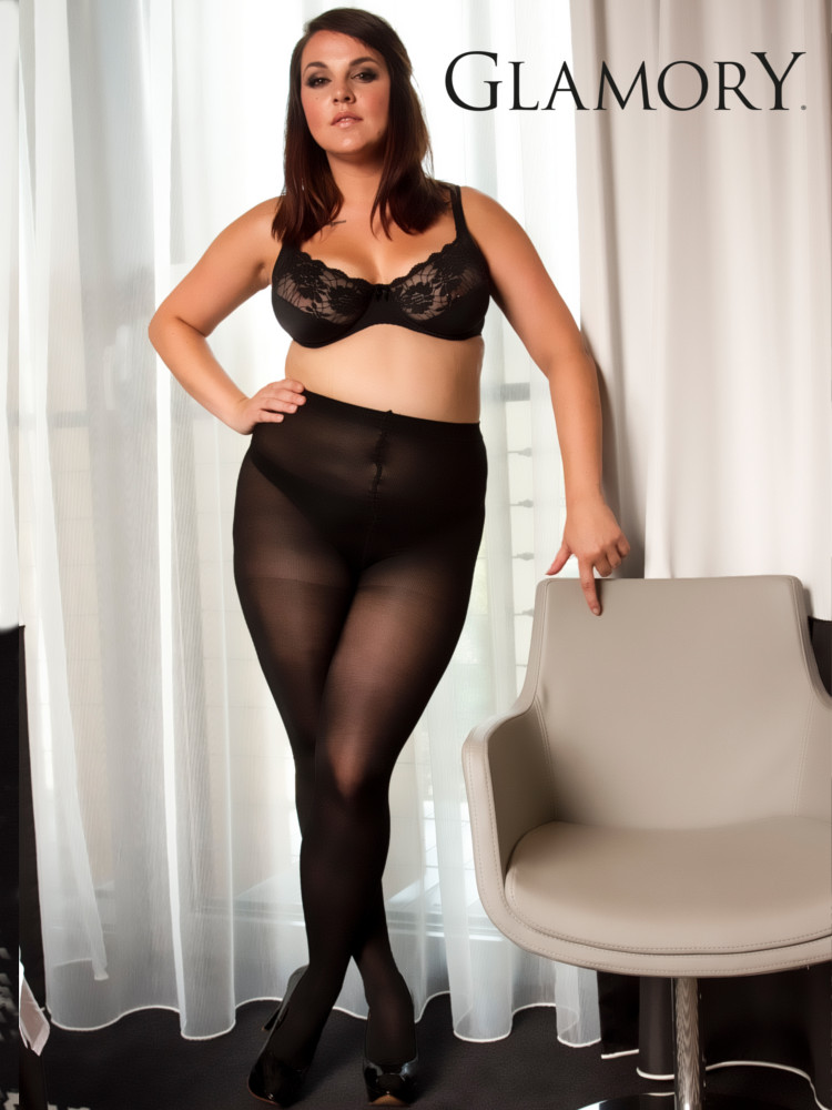 Image of Glamory Microstar 50 Tights-Black-3XL
