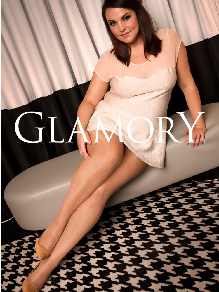 c822a5027db76 Glamory Vital 40 Support Tights, Plus Size Compression Pantyhose | eBay