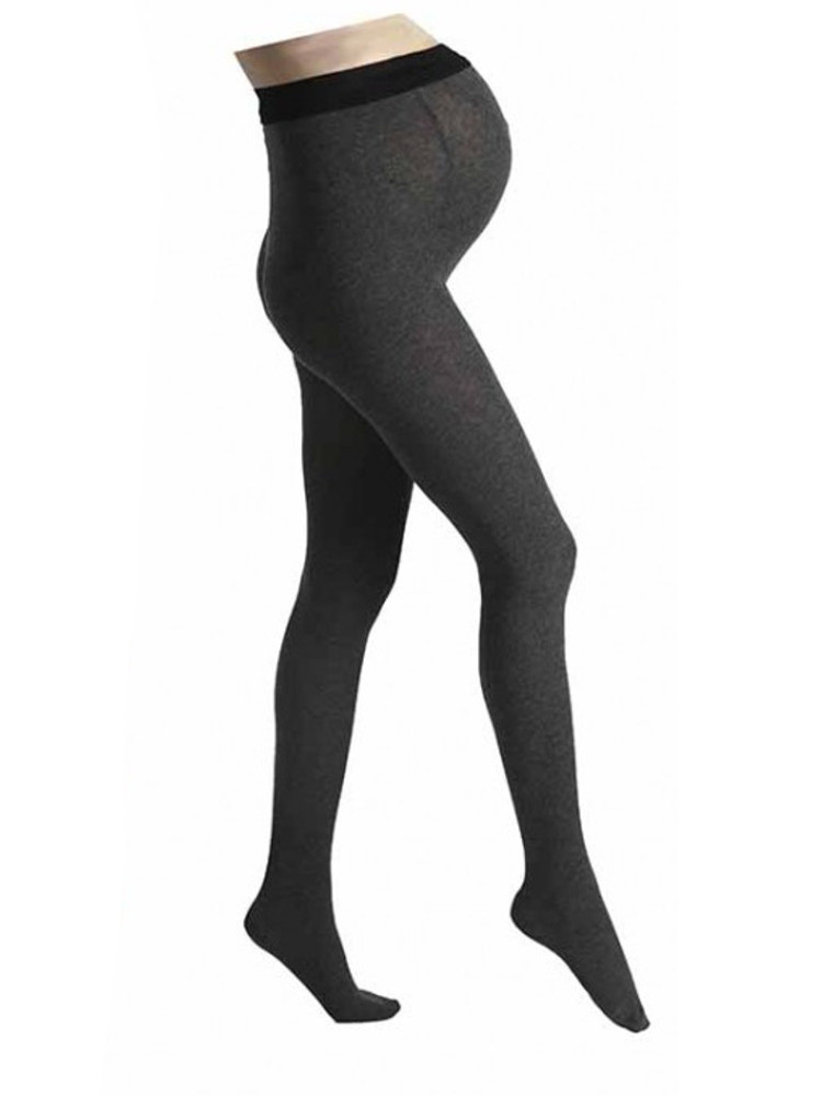 Image of Pamela Mann Maternity Supersoft Grey Tights - The Hosiery Outlet-One Size-Grey