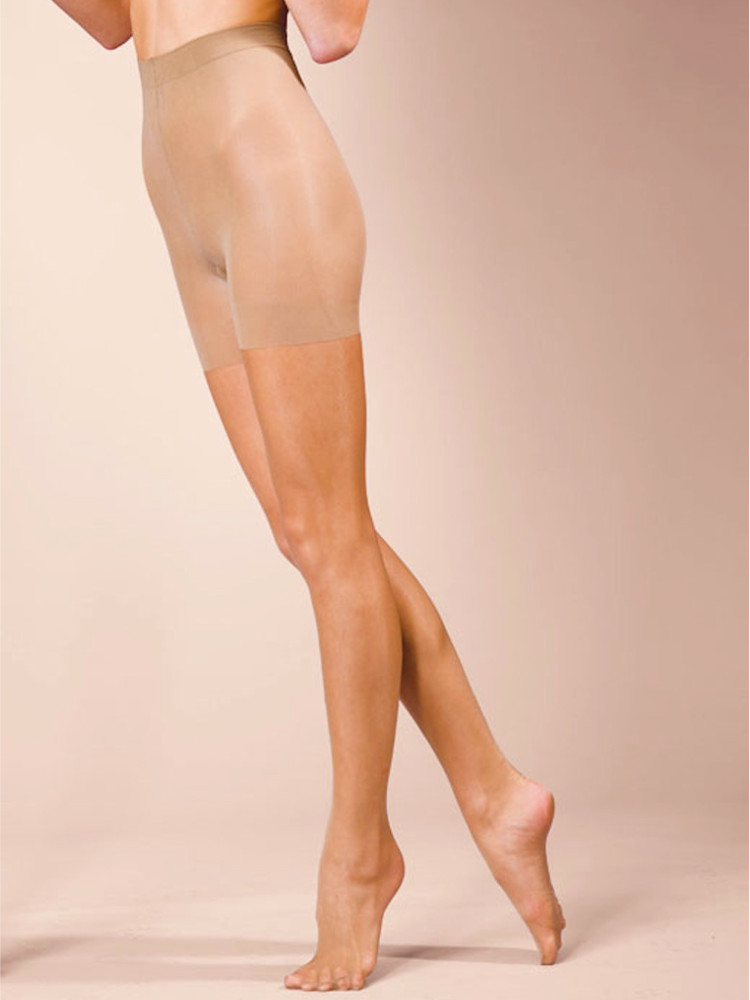 Image of Silky Natural Bodyshaper Tights Black Large