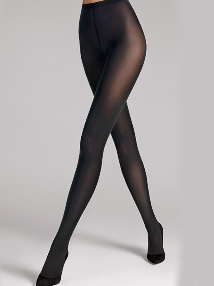 Image of Wolford 70 Matte Opaque Tights Special Price-Large-Black